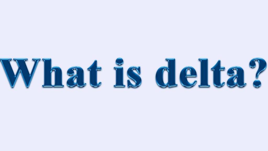 델타 Delta